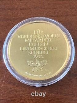 1 oz 999 Silver 1936 Berlin Germany Olympic Rare Proof Coin Meritorious Work