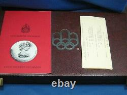 1976 Canada Olympic Complete Set 14 x $5 14 x $10 Sterling Silver 28 Coins nice