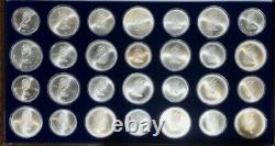 1976 Canadian Olympic 28 coin set 30.2oz. Silver