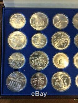 1976 MONTREAL OLYMPIC Uncirculated SET 28 Sterling Silver $5 & $10 Coins