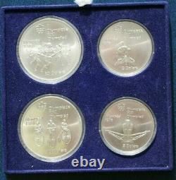 1976 Montreal Canada Olympics Proof Coin Set 4 Silver Coins Series