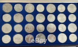 1976 Silver Canadian Montreal Olympic Games Set 28 Coins 30 oz of Silver