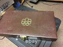 1976 canada olympic silver set 28 coins
