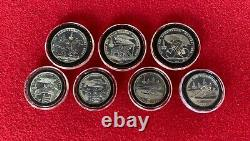 1980 USSR Moscow Olympics Coins Silver Proof Set with COA 28 Coins