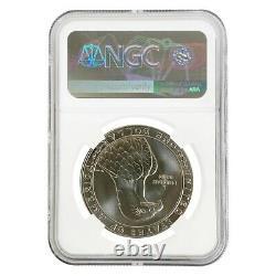 1983 D Olympics $1 Silver Dollar Commemorative NGC MS 70