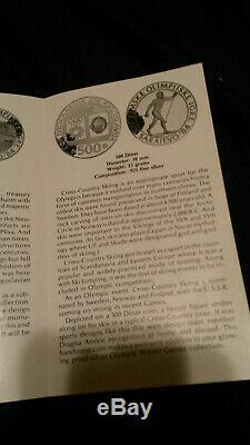 1984 Yugoslavia Olympics Silver Proof Set of 15 Coins Sarajevo