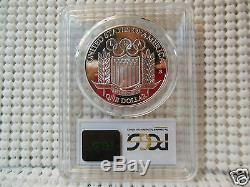 1992-S $1 PCGS PROOF PR70DCAM Olympic BASEBALL Very clean, sharp coin! SILVER