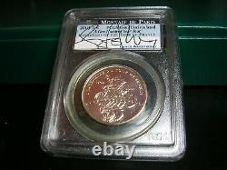 1995 1996 ATLANTA OLYMPICS 8 COIN PROOF Silver Dollar set BOX COA