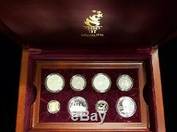 1995-1996 Atlanta Olympics Commemorative Proof Gold, Silver, Clad 16 Coin Set