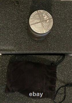 1996 U. S. Mint Olympic Coin Die with COA Please see pictures. Amazing Piece