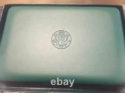 1996 US ATLANTA OLYMPIC 8 COIN SILVER PROOF SET With Box And COA
