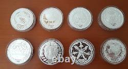 2000 16 x 1oz Sydney Olympic Silver Coin Set The Perth Mint & Royal Aust Mint