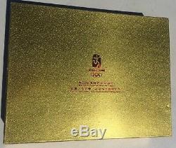 2008 Beijing Olympics Commemorative 1oz 40oz Fine Silver Coins Series 40 Pc Set