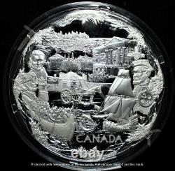 2008 Canada $250 Silver Kilo Coin 2010 Olympic Games Towards Confederation