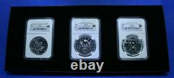 2008 Canada Maple Leaf, 09 & 10 Canada S$5 Vancouver 10 Olympics Silver Coin Set