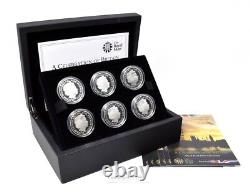 2010 Silver Proof London 2012 olympic £5 coin Body Set Box COA CC