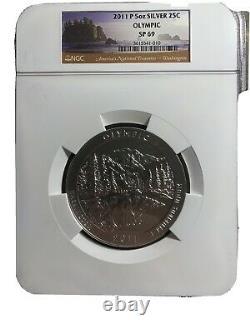 2011 5oz Olympic (Washington) State Coin