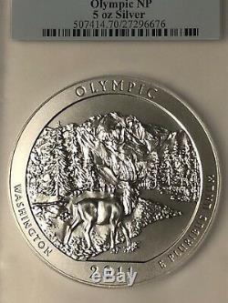 2011 P ATB 5 OZ. OLYMPIC PCGS SP70 FIRST STRIKE! Rare Coin