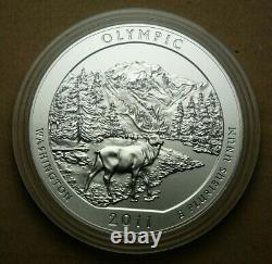 2011-P Olympic 5 Ounce Silver Coin New in Mint