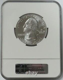 2011 Silver 5 Oz Olympic Washington Atb Ngc Ms 69 Early Releases