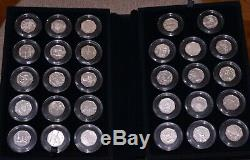 2012 London Olympic 50p Silver Sports Collection 29 X Coins Bu Set 25