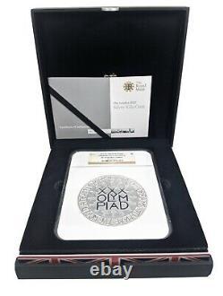2012 London Olympics 500 Pounds. 999 Silver Kilo Coin NGC PF 70 Ultra Cameo Mint