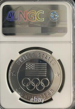 2020 1 Oz US Olympic Team Tokyo Coin PF70 NGC