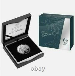 2020 Tokyo Australian Olympic Team Domed $5 1oz fine silver proof coin