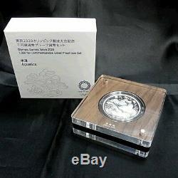 2020 Tokyo Olympics commemorative 1000 yen commemorative silver coin Japan F/S