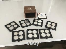 30+ Ounces Of Silver (1976 28 Coin Olympic Set) -COINS ONLY BOX NOT INCLUDed