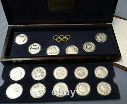 Australia Sydney Summer Olympics 2000 Silver Coin Collection 16 ounces