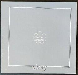 CANADA 1976 MONTREAL OLYMPICS 4-COIN PROOF SET SERIES I 4.32oz 92.5% SILVER