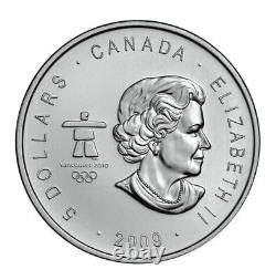 Canada 2010 $5 Special Edition 3-coin Vancouver Olympic Silver Coin Set 3 x 1oz
