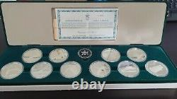 Canadian $20 Calgary Olympic Winter Games Silver 10-Coin Set