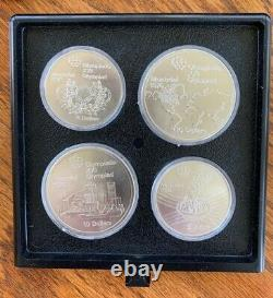 Canadian Montreal 1976 Olympic Sterling Silver 28 Coin Set