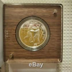 Japan 2020 Olympic Tokyo 1000 Yen Silver Judo Proof Coin 3rd