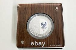 Japan 2020 Olympic Tokyo 1000 Yen Silver Judo Proof Coin 3rd FS