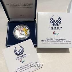 Limited Tokyo 2020 Olympic & Paralympic Games 1000 yen Silver Proof Coin SET