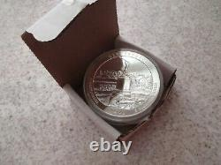 Lot of 3 2011 AtB 5oz Silver Coins Gettysburg Olympic Glacier National Parks