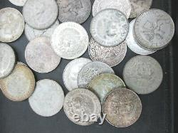 Lot of 50 1968 MEXICO 25 Pesos Olympic Coin. 720 SILVER COINS Q3L5