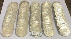 Mexico Lot of 100 Silver Coins 1968 Mexican Silver 25 Pesos Olympics ASW. 5209