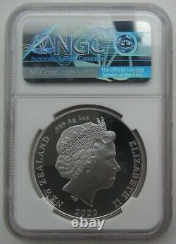 NGC PF70 New Zealand 2020 Tokyo Olympic Games Silver Coin 1oz 1 Dollar COA