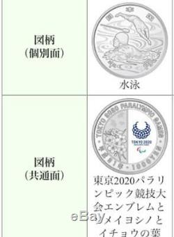 Olympic Games Tokyo 2020 1000 Yen Commemorative Silver Coin 4 sports set