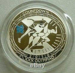 Olympics Countdown Sterling Silver Proof £5 2009-2012 4-Coin Box Set London 2012