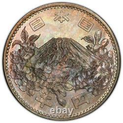 Pcgs Ms67 Japan 1964 S39 Olympics 1000y Coin Jnda 03-1 Beautiful Tone