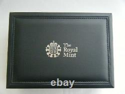Rare 2009 2012 Countdown London Olympics Silver Proof £5 Royal Mint 6 Coin Set