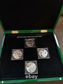 Rio 2016 Olympic silver coins collection (4)