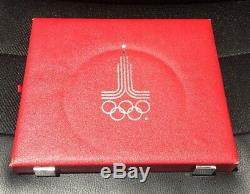Russia 1980 Olympic Silver Proof Coin Set (28 Pieces)