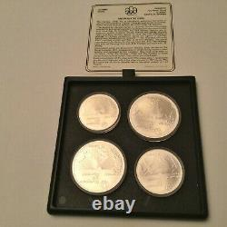 Set of 1976 Canada Olympic, 14 Pcs $5 & 14 Pcs $10 Silver Coins-Limited Edition