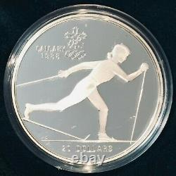 Sterling Mint 92.5% Silver Canada 1988 Calgary Olympic Winter Games 10 Coin Set